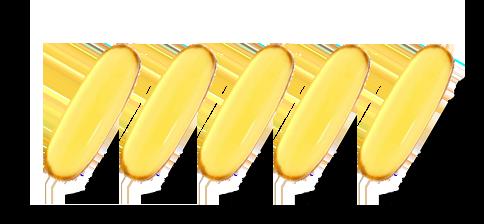 天然魚油顆粒